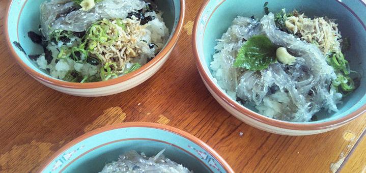 サイコーのシラス丼食べる方法