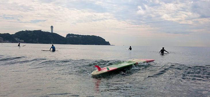 サーフィンの基本:②ゲッティングアウト(ローリングスルー)