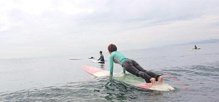 サーフィンの基本:②ゲッティングアウト(プッシングスルー)